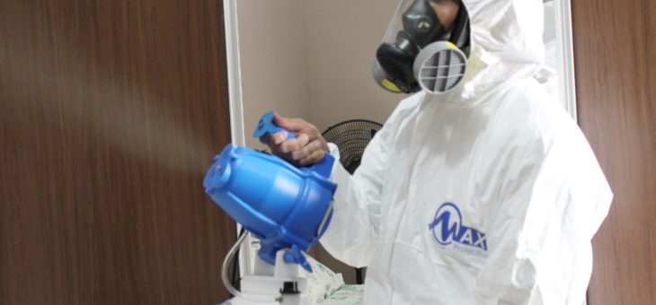 Tecnologia MAX PROTECTION no combate a pandemia COVID-19